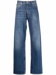 Alexander McQueen широкие джинсы Japanese