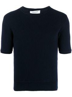 Thom Browne футболка с круглым вырезом и короткими рукавами