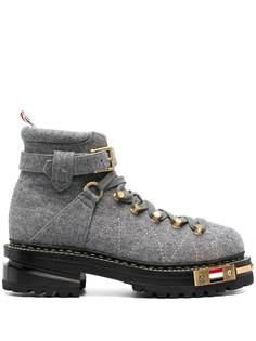 Thom Browne ботинки на низком каблуке со шнуровкой