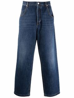 Kenzo широкие джинсы с завышенной талией