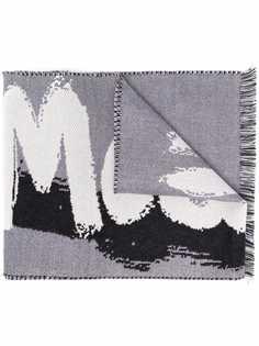 Alexander McQueen шарф с логотипом
