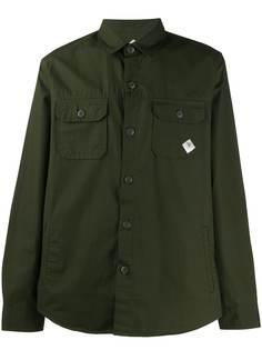 Barbour рубашка с длинными рукавами и карманами