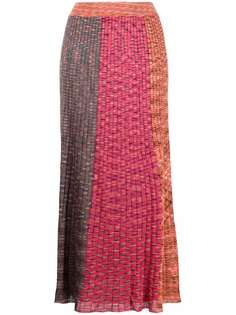 M Missoni юбка макси в рубчик
