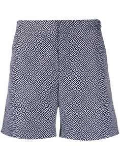 Orlebar Brown плавки-шорты с монограммой