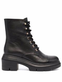 Stuart Weitzman ботинки Nisha на шнуровке