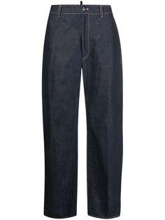 Dsquared2 широкие джинсы