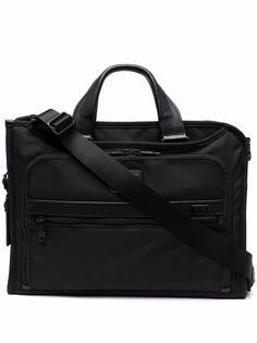 Tumi портфель с ремнем