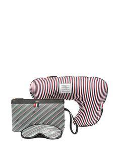 """Thom Browne """"дорожный набор из подушки, несессера и маски для сна"""""""