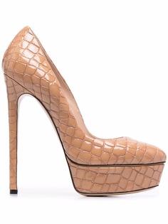 Casadei туфли Flora Lacroc на платформе