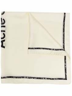 Acne Studios платок с логотипом