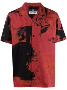 FRED PERRY рубашка с графичным принтом