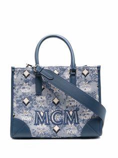 MCM жаккардовая сумка-тоут Visetos