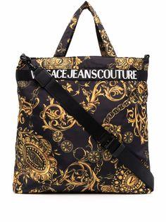Versace Jeans Couture сумка-тоут с принтом Barocco
