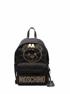 Moschino рюкзак на молнии с логотипом Teddy Bear