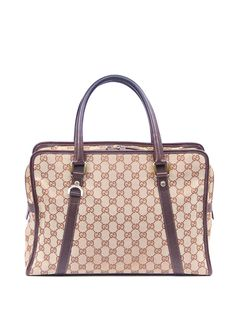 Gucci Pre-Owned портфель с узором GG