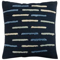 Подушка декоративная с бахромой и эффектом плиссе из коллекции ethnic, 45х45 см Tkano
