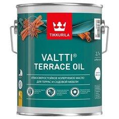 Масло Tikkurila Valtti Terrace Oil, бесцветное, 2.7 л