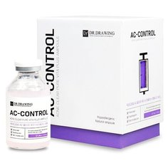 DR.DRAWING Skin Control Ampoule AC Очищающая сыворотка против акне, 35 мл