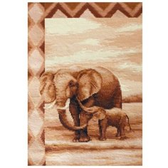 Набор для вышивания «Слоны», 20,5x31,5 см, Luca-S