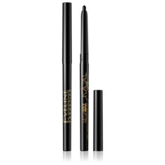 Eveline Cosmetics Карандаш для глаз Kajal Mega Max, оттенок черный
