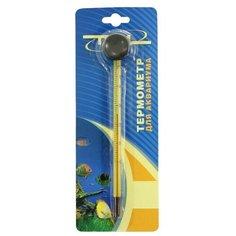 Термометр спиртовой Triol ZL-15B, желтый