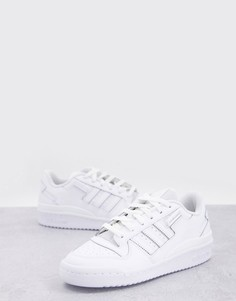 Белые низкие кроссовки adidas Originals Forum-Белый