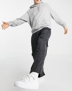 Черные брюки карго adidas Originals adicolor Contempo-Черный