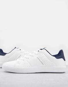 Бело-синие кроссовки Jack & Jones-Белый
