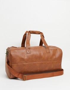Светло-коричневая спортивная сумка Burton Menswear-Коричневый цвет