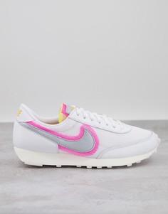 Белые кроссовки Nike-Белый