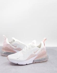 Кроссовки розового цвета Nike Air Max 270-Розовый цвет