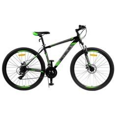 """Велосипед STELS Navigator 700 MD 27.5 черный/зеленый 17.5"""""""