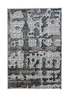 Ковер ворсовый NUR серый 200х300 арт. УК-1028-08 Kamalak Tekstil