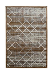 Ковер ворсовый NUR бежевый 120х180 арт. УК-1017-06 Kamalak tekstil