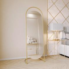 Зеркало напольное Genglass Evelum gold