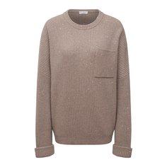 Пуловер из кашемира и шерсти Brunello Cucinelli