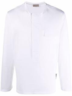 Low Brand футболка с длинными рукавами и карманом