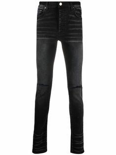 AMIRI джинсы скинни с эффектом потертости