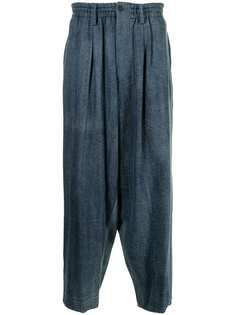 Yohji Yamamoto джинсы широкого кроя