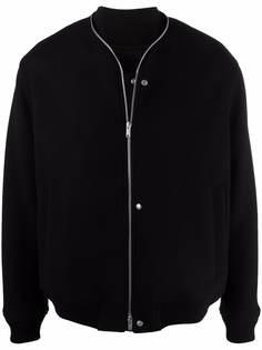 Jil Sander куртка-бомбер на молнии