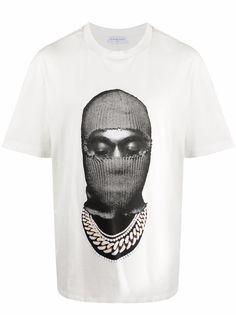 Ih Nom Uh Nit футболка Mask с графичным принтом