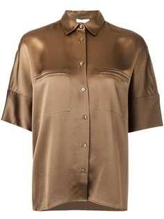 Vince рубашка с потайной застежкой