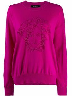 Versace джемпер с логотипом Medusa