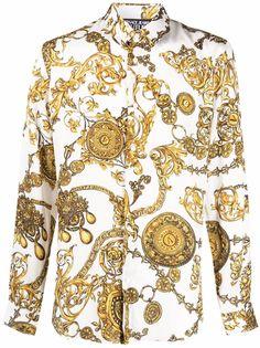 Versace Jeans Couture рубашка с длинными рукавами и принтом Baroque