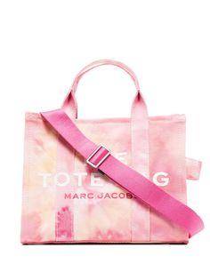 Marc Jacobs маленькая сумка-тоут The Tote с принтом тай-дай