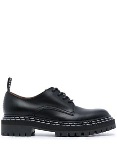 Proenza Schouler туфли дерби на массивной подошве