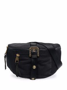 Versace Jeans Couture поясная сумка с пряжкой