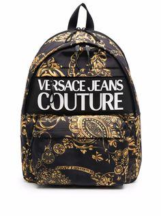 Versace Jeans Couture рюкзак с принтом Baroque