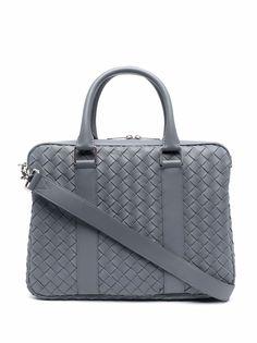 Bottega Veneta плетеная сумка для ноутбука