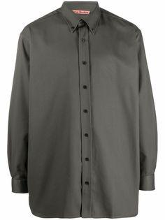Acne Studios cotton-blend long-sleeve shirt